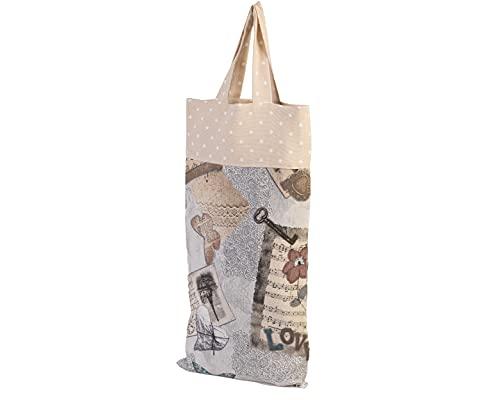 Bolsa de pan de tela mariposas