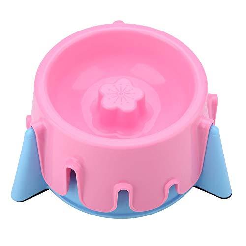 Huisdier Langzame Feeder Bowl Hoogte Verstelbare Langzame Eten Huisdier Bowl Cake Vorm Feeding Bowls Gezond Eten Dieet Voedsel Schaal met Antislip Bodem Pad