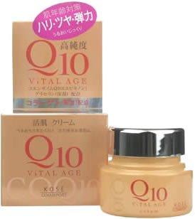 Kose VITAL AGE Q10 Facial Cream [Health and Beauty] (japan import)