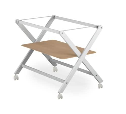 COOL · DREAMS - Estructura minicuna tijera de madera de haya + Somier + 4 ruedas