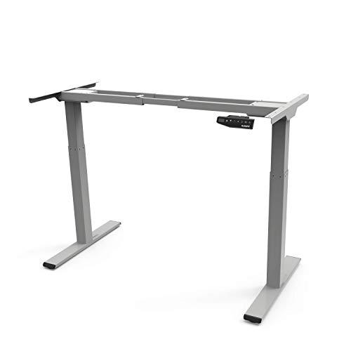 Flexispot EB2S Höhenverstellbarer Schreibtisch Elektrisch höhenverstellbares Tischgestell, passt für alle gängigen Tischplatten. Mit Memory-Steuerung und Softstart/-Stop.
