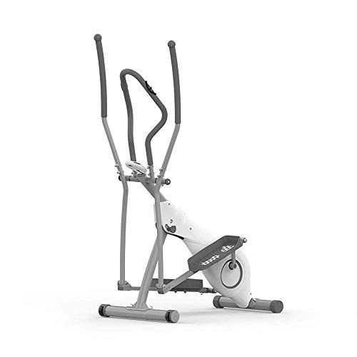 ZCYXQR Deportes Spinning Bicicleta estática aeróbica Entrenador elíptico Bicicleta elíptica Bicicleta estática-Fitness Máquina de Entrenamiento Cardiovascular para el hogar Hogar (Deporte Interior)