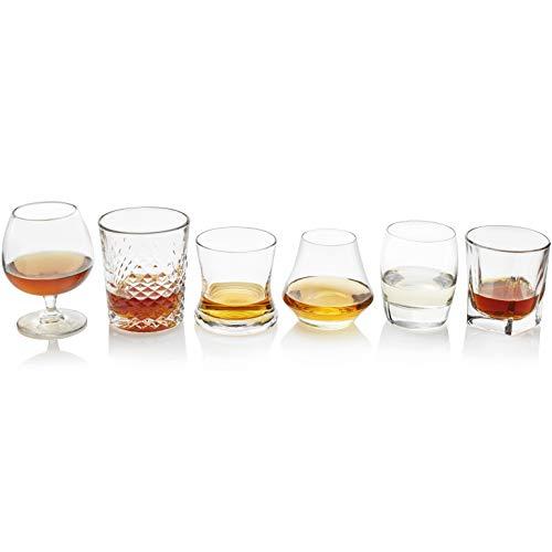 Libbey Craft espíritus 6piezas Surtido de Drinkware Set