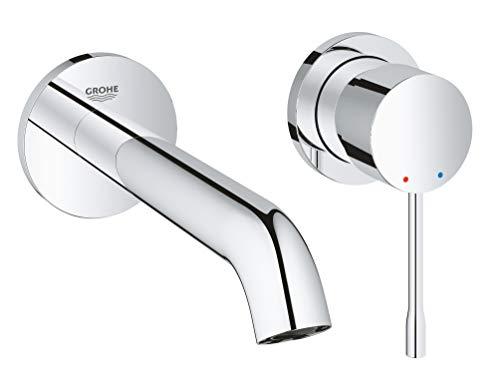 Grohe Essence - Grifo de lavabo de doble agujero con sistema de...
