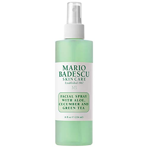 Mario Badescu Facial Spray with Aloe, Cucumber and Green Tea, 8 Fl Oz