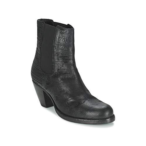 FRED DE LA BRETONIERE ALMERE Enkellaarzen/Low boots dames Zwart Enkellaarzen