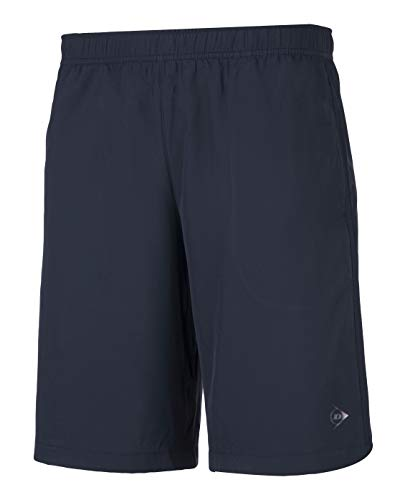 Dunlop Herren Club Line Men Woven Short, Navy, L