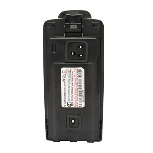 Karier RLN6305 RLN6305B 2200mAh Li-ion Battery Compatible for Motorola CP110 RDU2020 RDU2080D RDU4100 RDU4160D RDV2020 RDV5100 Radio