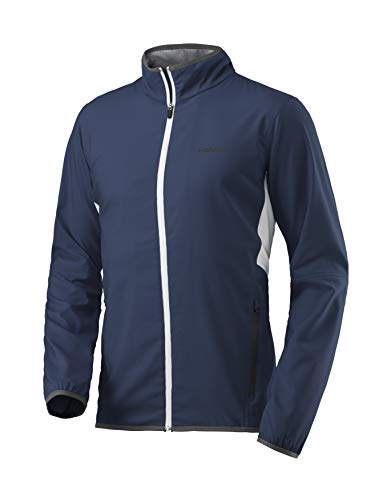 HEAD Herren Club Jacket Men Trainingsanzüge, dunkelblau, S