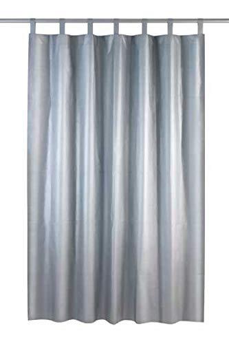 WENKO Thermo-Vorhang, Polyester, 130 x 200 cm, Silber matt