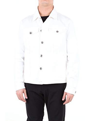 Luxury Fashion | Eleventy Heren 979GB0028WHITE Wit Elasthaan Jassen | Seizoen Outlet