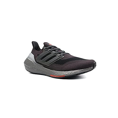 Adidas Ultraboost 21 Calzado Deportivo Running para Hombre Color Carbon/Solar Red Talla 45 1/3