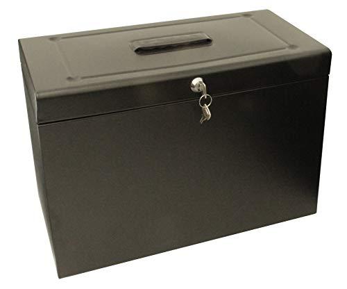Cathedral HOBK - Caja archivadora para carpetas colgantes, negro