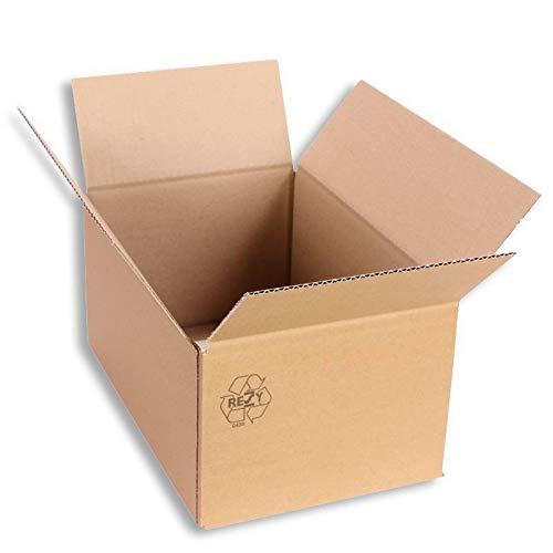 Faltkarton 300 x 200 x 150 mm Karton Schachtel Versandkarton Paketversand 25 Stück
