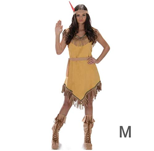 Karnival 81048Indian Girl costume, donna, marrone, medium