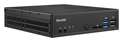 Shuttle XPC slim PC-System D1150XA 3.5GHz G4560 Mini PC Nero Mini PC