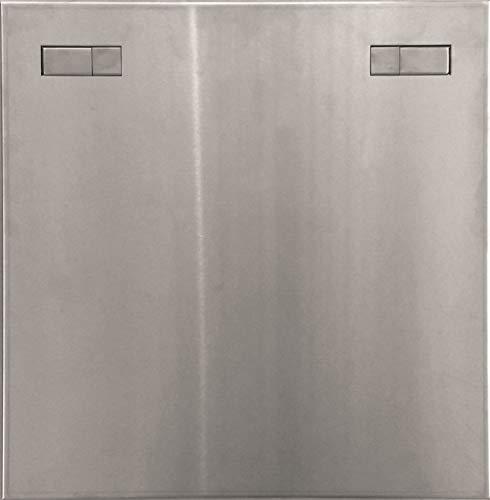 Revisionstür Revisionsklappe Wartungsklappe aus Edelstahl mit Einbaurahmen, Größe / Durchmesser:400x600mm