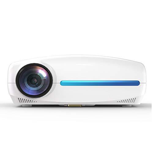ZouYongKang Mini Proyector, proyector de películas de 2021 WiFi con sincronización de la Pantalla del teléfono Inteligente, proyector portátil de 1080p HD admitido 200', Compatible con HDMI, VGA, USB