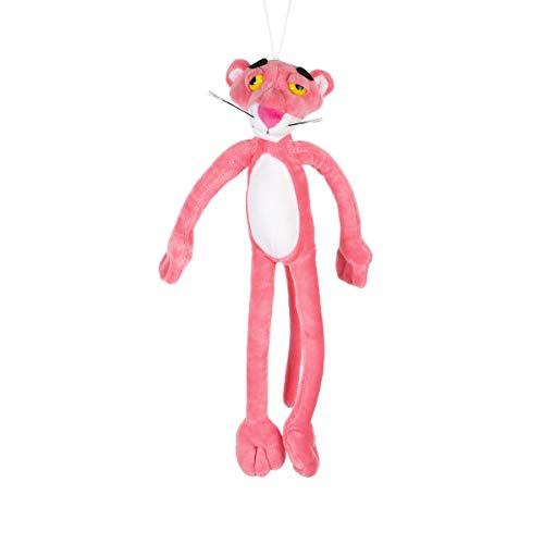Pantera rosa de 40 cm para niños, herramienta de dibujos animados, juguete de peluche, juguete de peluche, Rosa, talla única