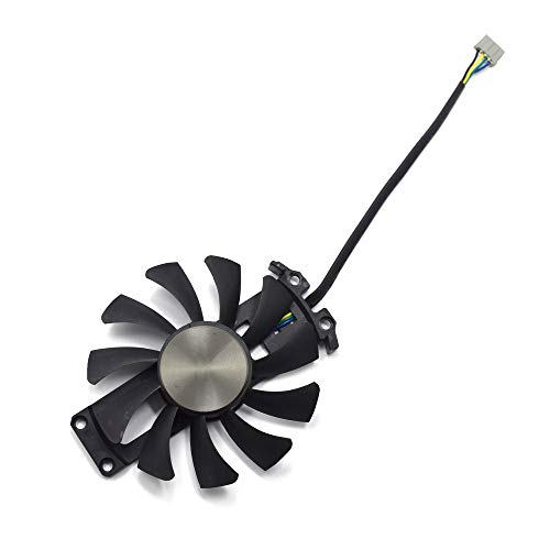inRobert 75mm GA81S2U Grafikkartenlüfter Graphic Card Fan für ZOTAC GTX 970 AMP! Omega Core (ZT-90106-10P) Graphics Card Cooling Fans (Fan-A)