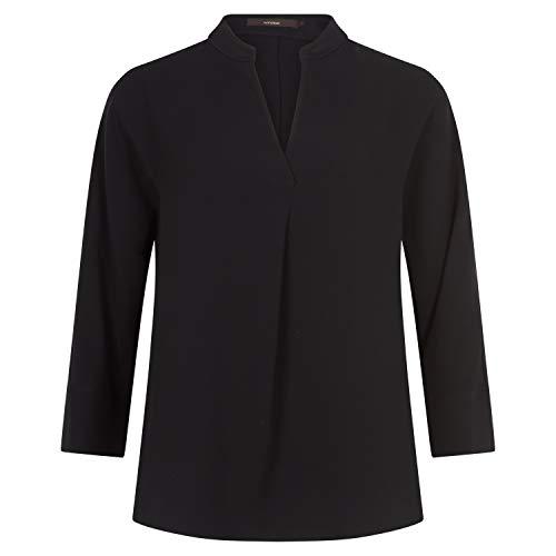 windsor Bluse mit V-Ausschnitt schwarz (001 Black) 40