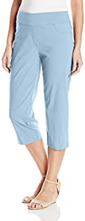 Ruby Rd. Women's Plus Size Pull-on Solar Millennium Tech Cropped Capri