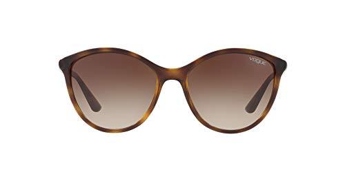 Vogue Eyewear 0VO5165S W65613 55 Occhiali da sole, Marrone (Dark Havana/Browngradient), Donna