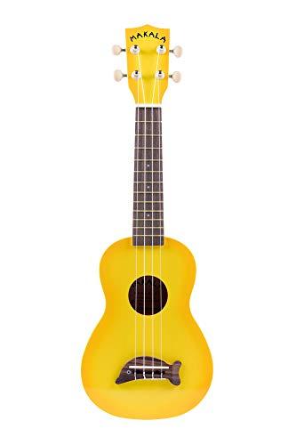 Kala MKSDAM - Ukelele, clavijero de engranajes, color amarillo Sombreado