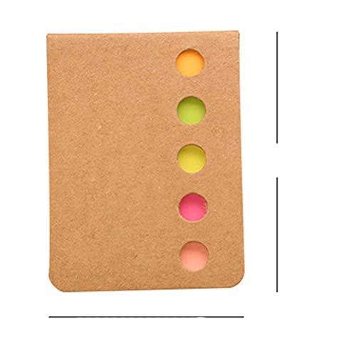 Office Post-it-Kombination N-mal Farbetikett Aufkleber Markierungsaufkleber Student Use Classification Index Aufkleber Notepad-White, CN