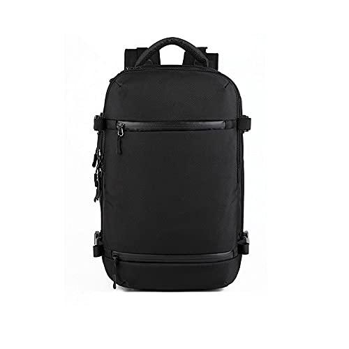 Hanpiyig Rucksack Laptop, USB Mochila de Viaje de Carga, Bolsa multifunción Repelente al Agua, Mochila para Hombres para 15'17' Mochilas para Laptop, Mochila de Senderismo