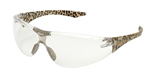 Elvex Clear Safety Glasses, Scratch-Resistant, Contemporary