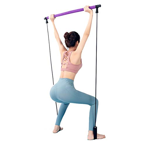 Rally Female Elastiek Yoga Pilates Stretchen Band Fitness Stick elastisch koord Thuis Hip trainingstoestellen