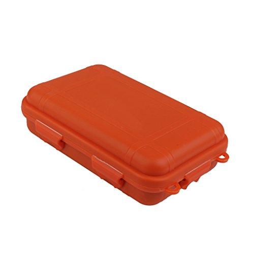 sharplace Agua Densidad GEL5830VL plástico Cajas secar Caja Portátil Para Camping Pesca Navegar por wasee Sport, color naranja, tamaño small