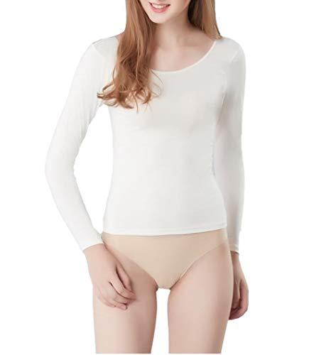 GangKun Primer, vrouwelijke kleding, lage hals, hechtend, bloemen body shirt, smalle secties, dames thermische ondergoed voor dames, herfstvlees