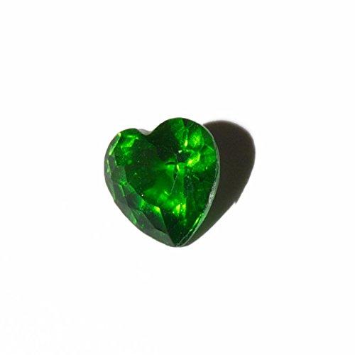 Corazón - piedra puede 5 mm encanto flotante se ajusta la memoria de estar virutas y virutas estilo Búho de Origami