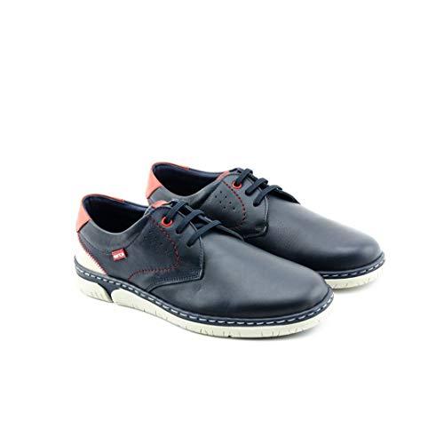 NOTTON - NOTTON - NOTTON 206 Zapato Hombre DE Cordon - Cuero