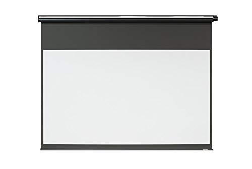 シアターハウス プロジェクター スクリーン 電動 リモコン (16:9) ブラックマスク (100インチ) 日本製 BDR2214WEM