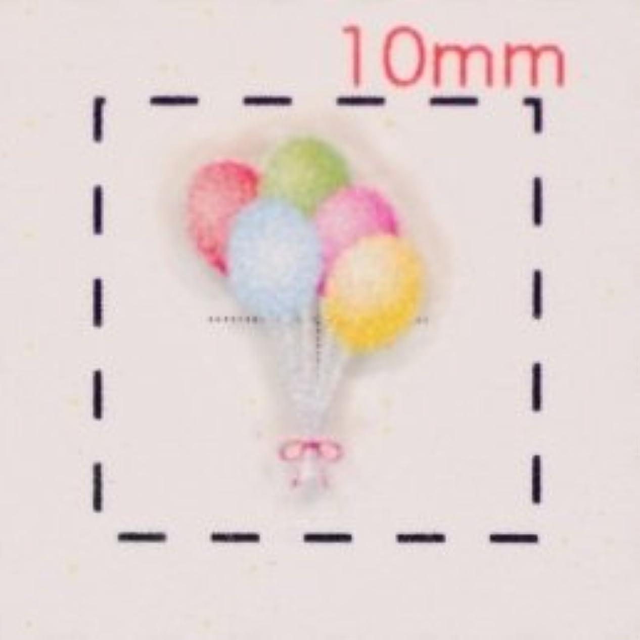 ヒール全体葬儀3Dネイルシール【ウエディング?結婚式】風船(1)1シート9入