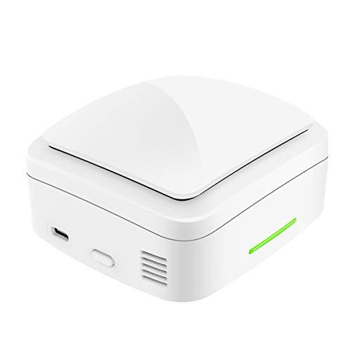 USB Recargable Filtro De Aire Generador De Ozono, Desodorizador Portátil Esterilizador para El Hogar, Automóvil, Comida, Frutas Y Verduras, Habitación, Mascotas Eliminar Olores