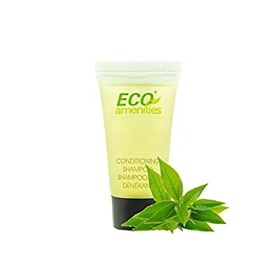 ECO amenities Shampoo & Conditioner 2 in 1 Bulk, Travel Size Individually Wrapped Shampoo & Conditioner Set Hotel Toiletries