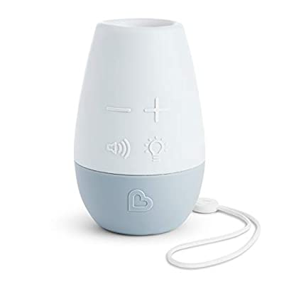 Munchkin Shhh Portable Baby Sleep Soother Sound Machine and Night Light by Munchkin