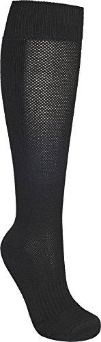 Trespass Exhale, Black, 4/7, Socken für Herren, 38-41, Schwarz