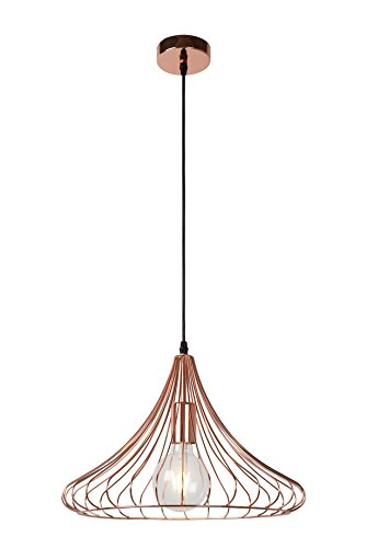 Lucide VINTI - Suspension - Ø 39,5 cm - Cuivre