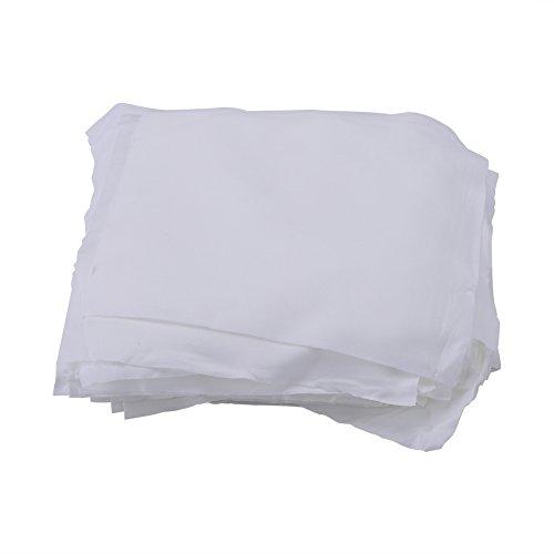 Walfront 100 Teile/Beutel 6 x 6 Zoll Mikrofaser Reinigungstuch Flusenfreie Nicht Abrasive Ultra Weichem Tuch für Telefon Objektiv Gläser