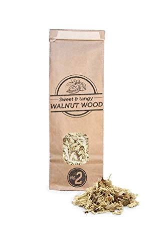 Smokey Olive Wood 500mL virutas de Madera de Nogal para Barbacoa y ahumar, Talla Nº2: 5mm-1cm