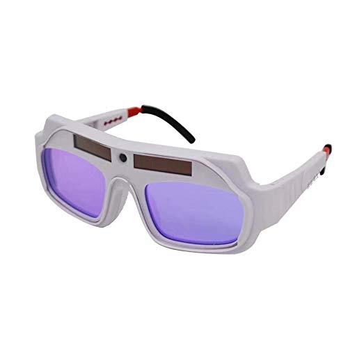 Gafas de soldar eléctricas de luz variable automática gafa