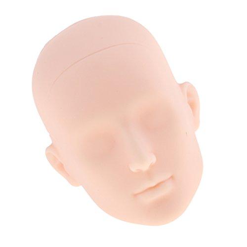 1/6 Männliche Puppe Kopf Headsculpt ohne Haar, DIY Körperteile Zubehör - # 1