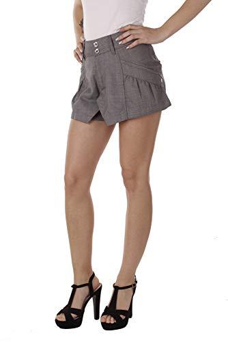 Diesel Damen Bermuda Shorts Hotpants Tallehi (Grau, W25)