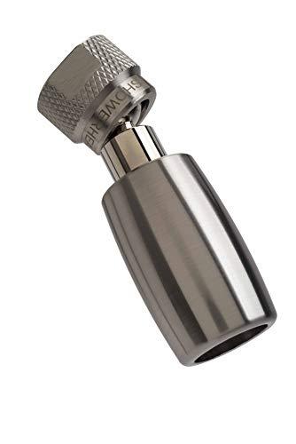 High Sierra's All Metal High Efficiency Low Flow shower head