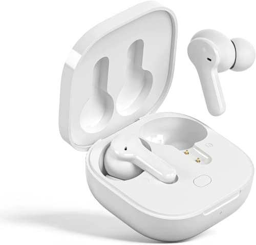 QCY T13 Auriculares Bluetooth Inalambricos Deportivos Bluetooth 5.1, 40Horas de Reproduccion, Auriculares Inalambricos con Control Tactil de Microfono Estereo de Alta Didelidad IPX4 Impermeable